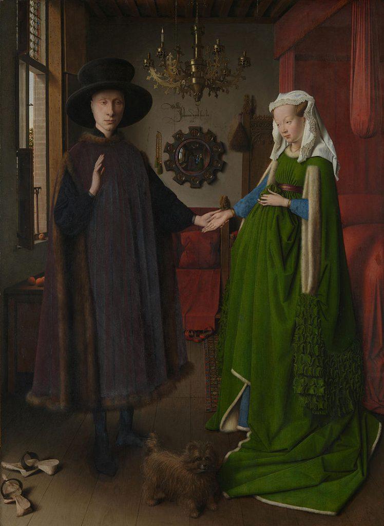 アルノフィーニ夫妻の肖像