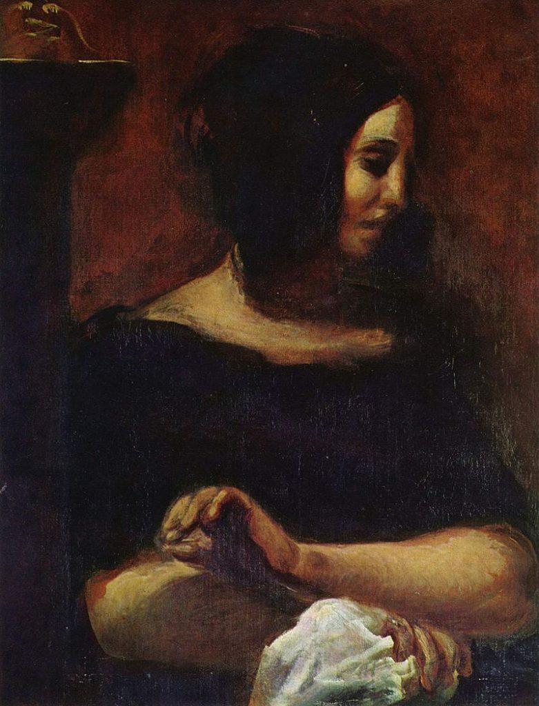 ジョルジュ・サンドの肖像