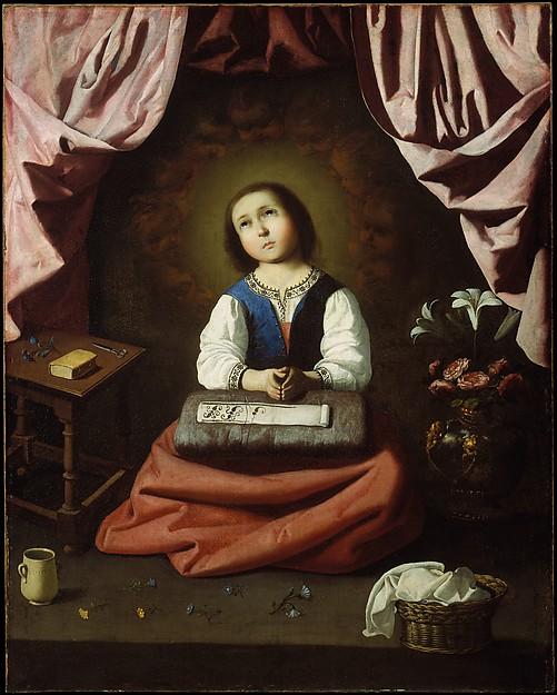 幼き聖母マリア
