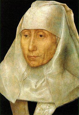 老婦の肖像画
