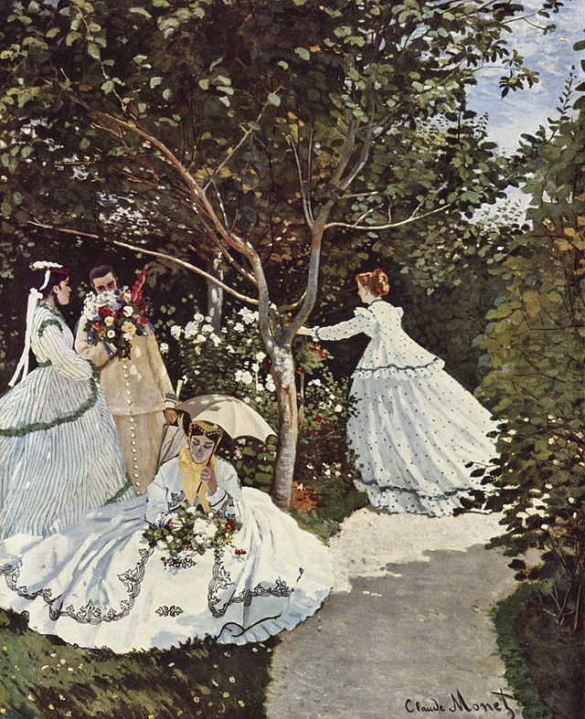 庭園の女たち