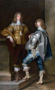 ジョン・ステュアート卿と弟バーナード・ステュアート卿