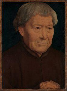 老夫の肖像画