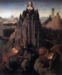 聖母マリアの寓意画