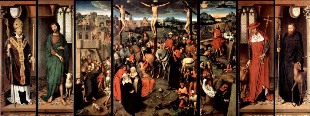 キリストの受難の祭壇画