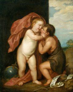 幼児キリストと洗者聖ヨハネ