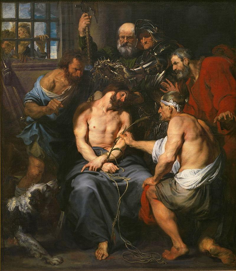 茨の冠のキリスト