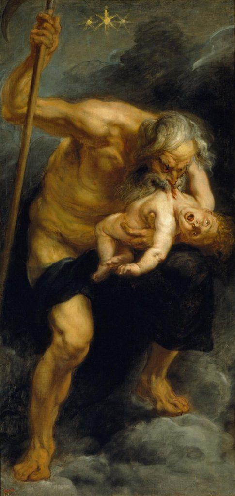 我が子を食らうサトゥルヌス