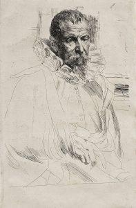 ピーテル・ブリューゲル(子)の肖像画