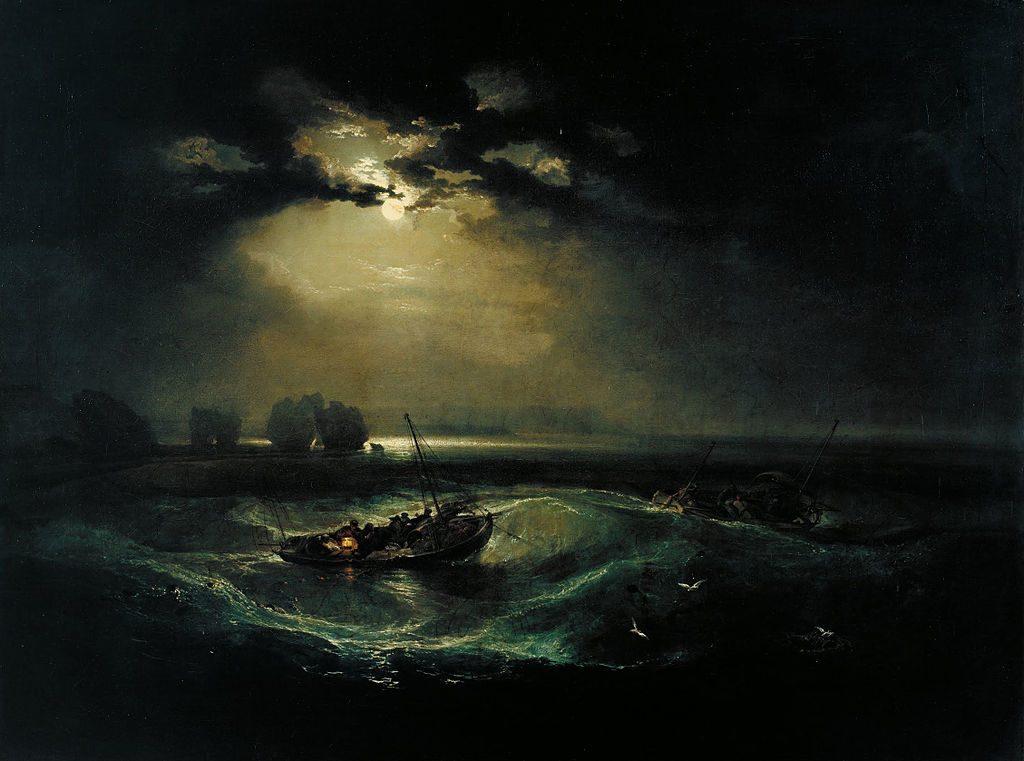 海上の漁師たち