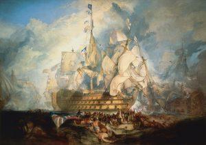 トラファルガーの海戦(国立海事博物館 )