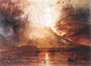 ヴェスヴィオ火山の噴火