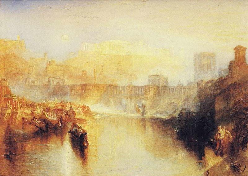古代ローマ:ゲルマニクスの遺灰を持って上陸するアグリッピナ