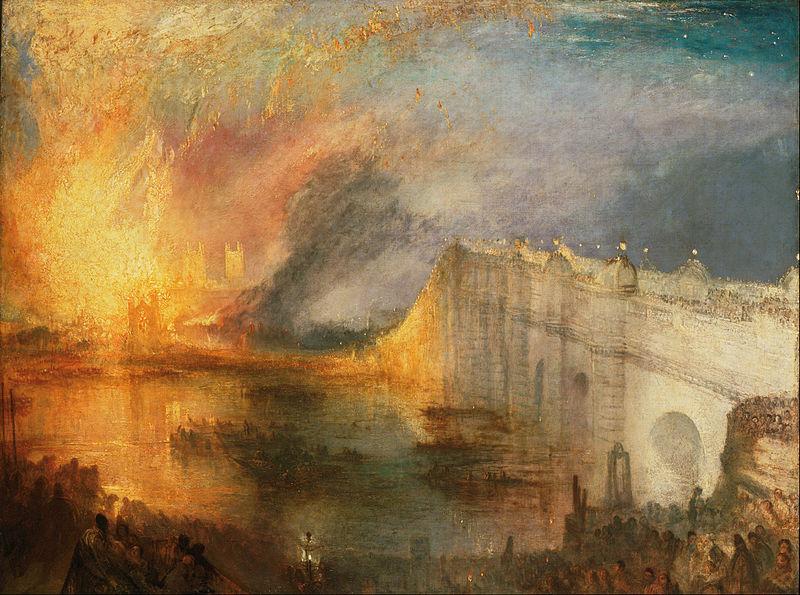 国会議事堂の火事