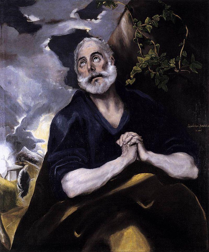 悔悛する聖ペテロ