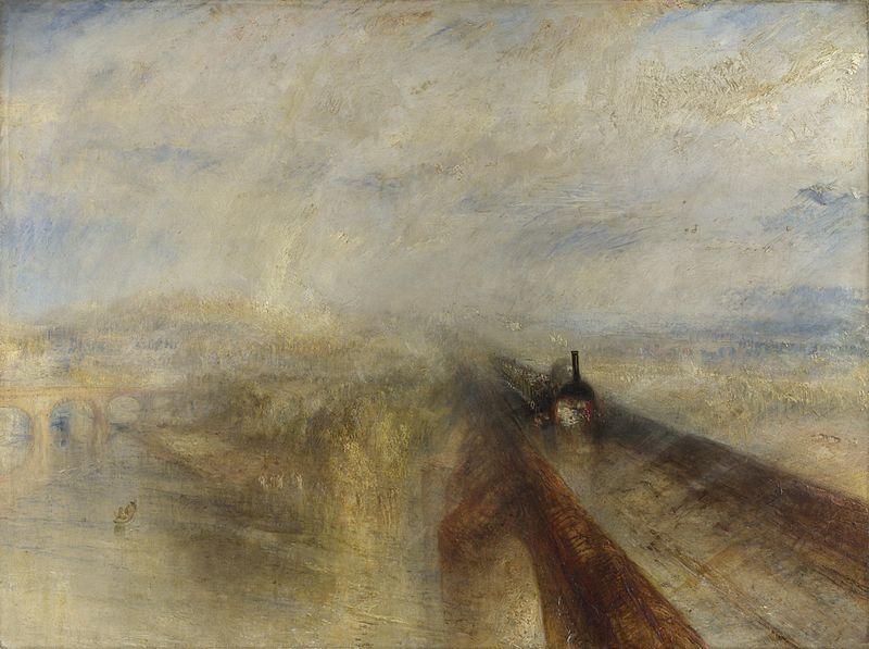 雨、蒸気、速度:グレートウエスタン鉄道