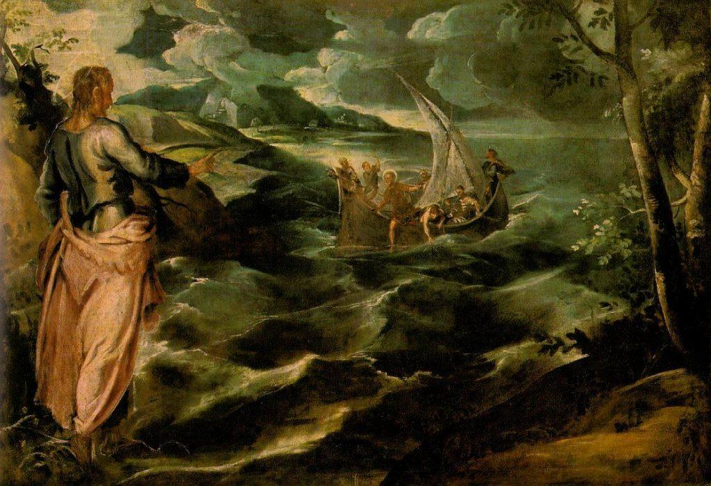 ガリラヤ湖でのキリスト