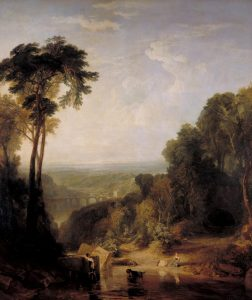 Crossing the Brook exhibited 1815 Joseph Mallord William Turner 1775-1851 Accepted by the nation as part of the Turner Bequest 1856 http://www.tate.org.uk/art/work/N00497