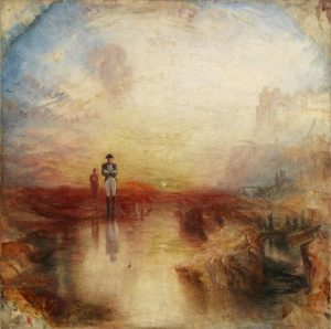 War. The Exile and the Rock Limpet exhibited 1842 Joseph Mallord William Turner 1775-1851 Accepted by the nation as part of the Turner Bequest 1856 http://www.tate.org.uk/art/work/N00529