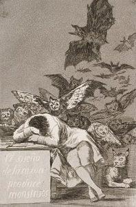理性の眠りは怪物を生む