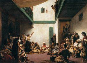 モロッコでのユダヤ人の結婚式