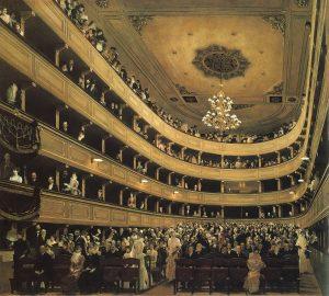 ウイーンの旧ブルグ劇場