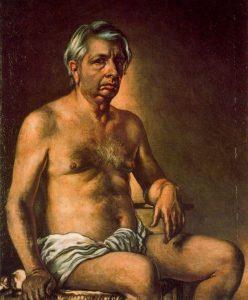 裸の自画像