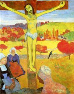 黄色いキリスト