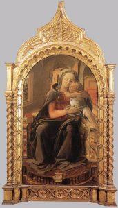 司教の座の聖母子