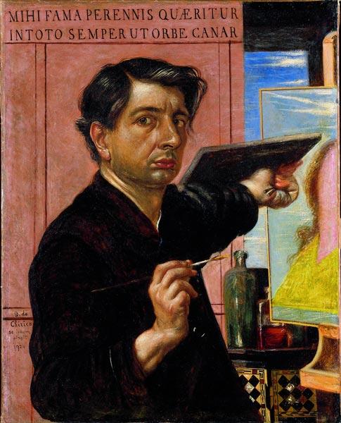 自画像(1924年)