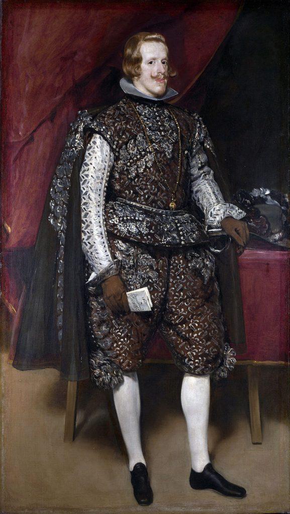 茶と銀を纏ったフィリップ4世