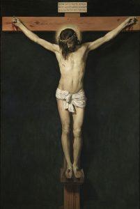 十字架に吊るされたキリスト