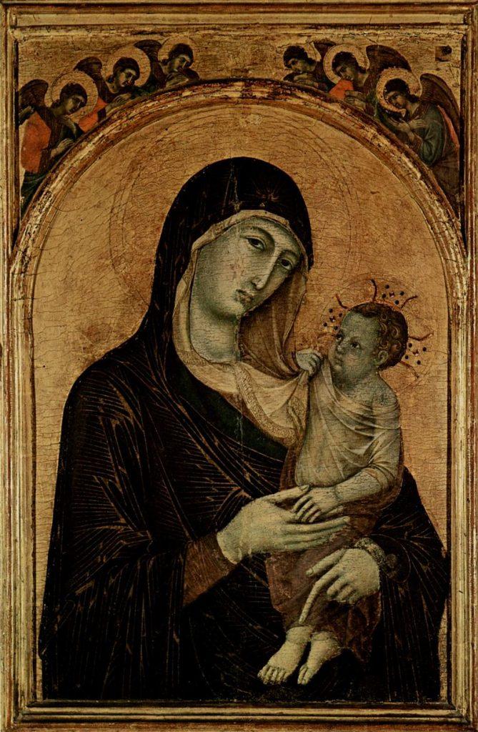 聖母子と六天使(ペルージャの聖母)