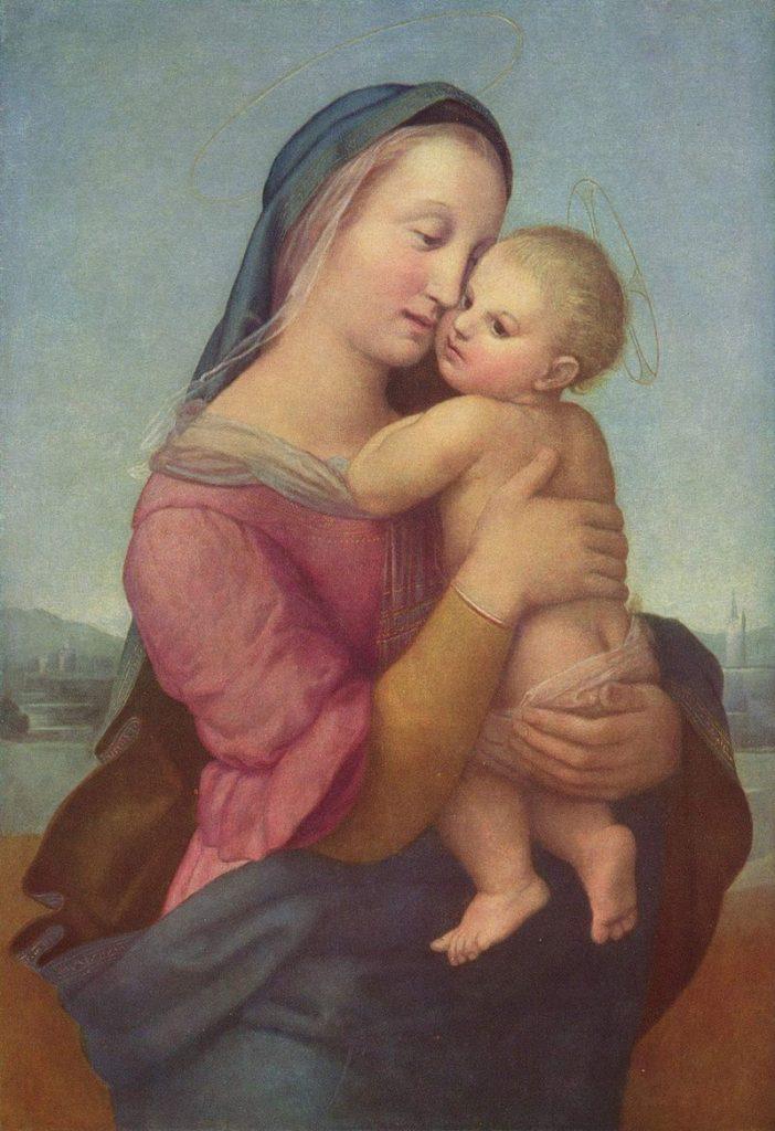 テンピの聖母》ラファエロ・サンティ|MUSEY[ミュージー]