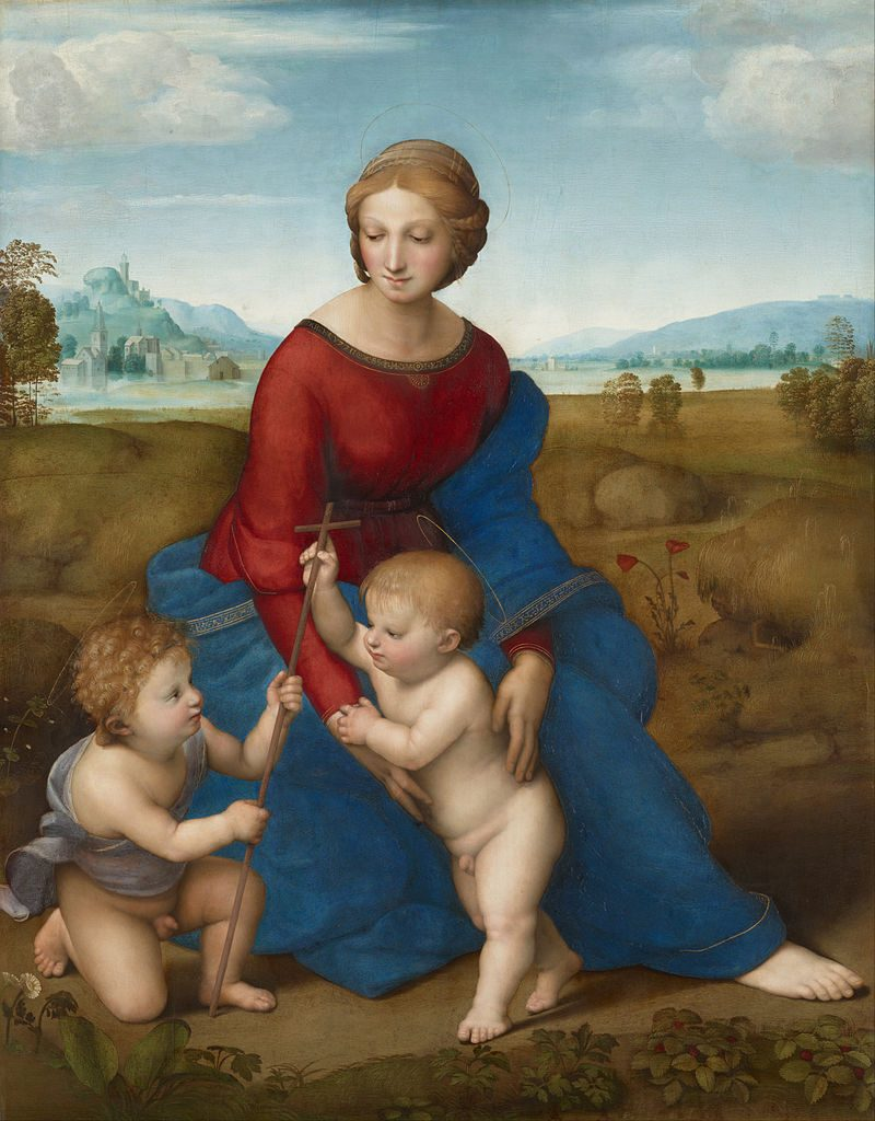 プラトの聖母(草原の聖母)