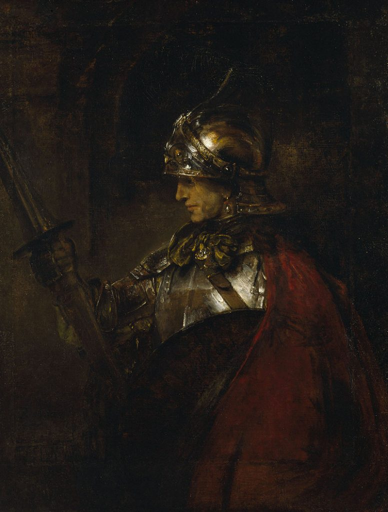 鎧の男(アレクサンダー大王)