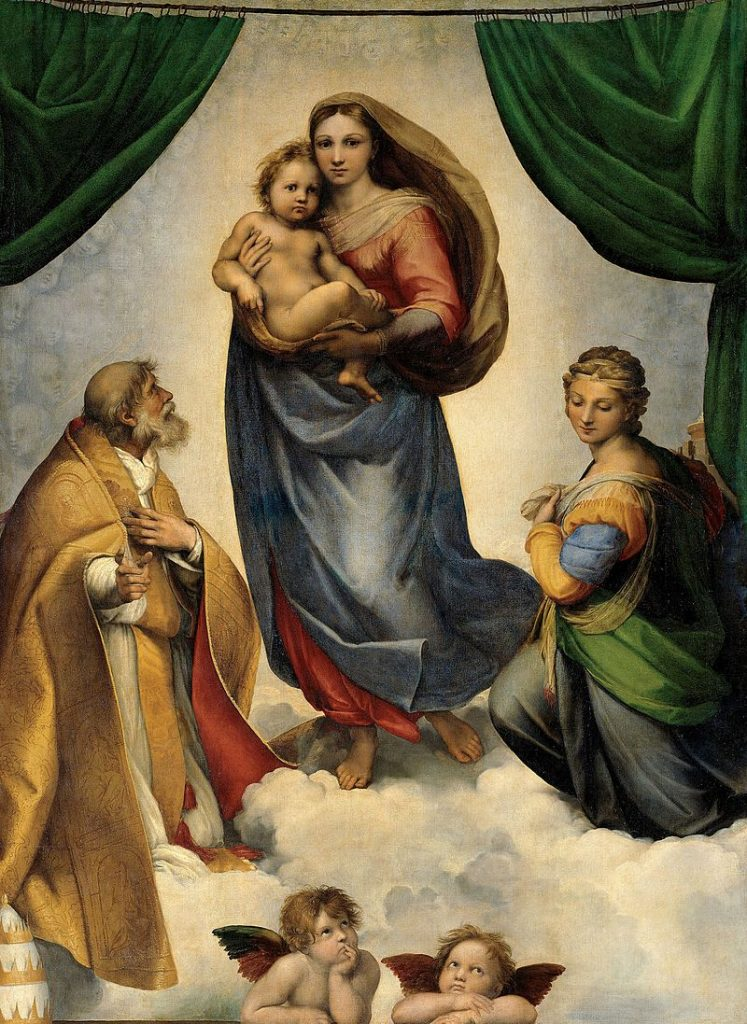 システィーナの聖母