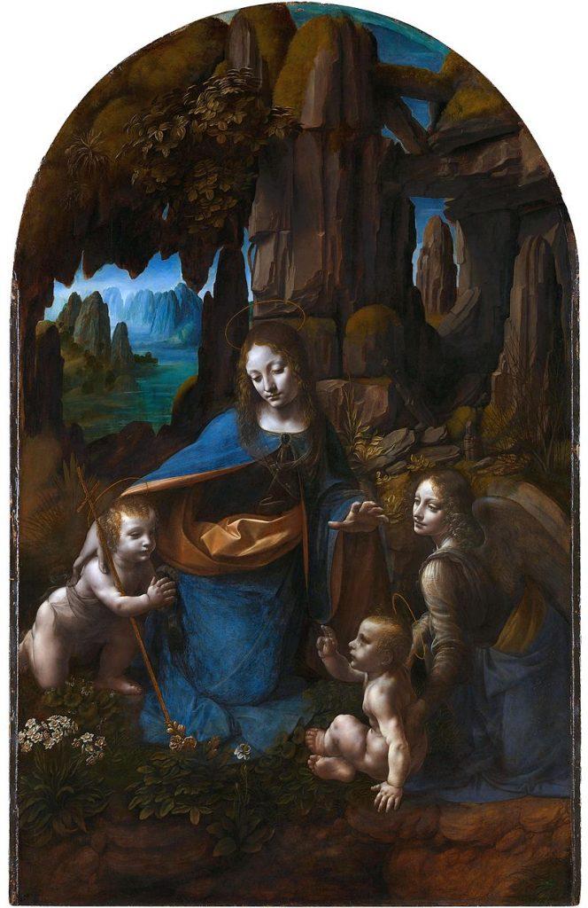 岩窟の聖母(ロンドン版)