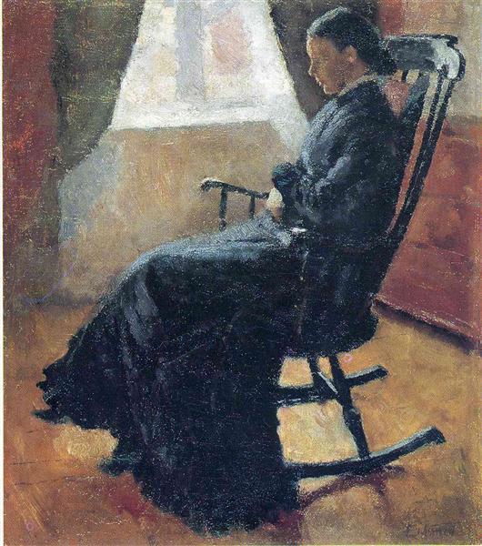 揺り椅子のカレン叔母さん