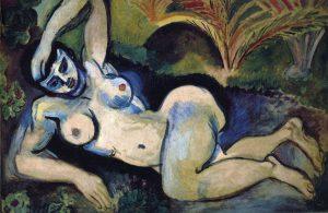 青色の裸婦 ビスクラの思い出