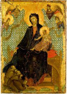フランシスコ会修道士の聖母