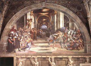神殿から放逐されるヘリオドロス