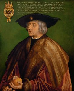 皇帝マキシミリアン1世の肖像