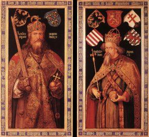 albrecht_du%cc%88rer_-_emperor_charlemagne_and_emperor_sigismund_-_wga06997