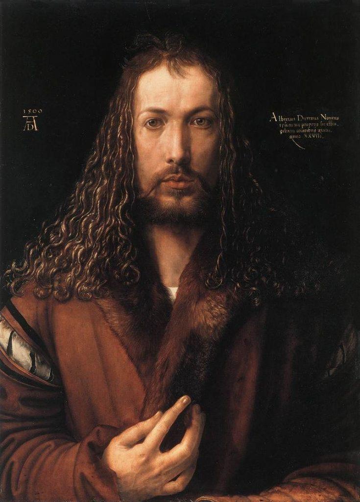 1500年の自画像