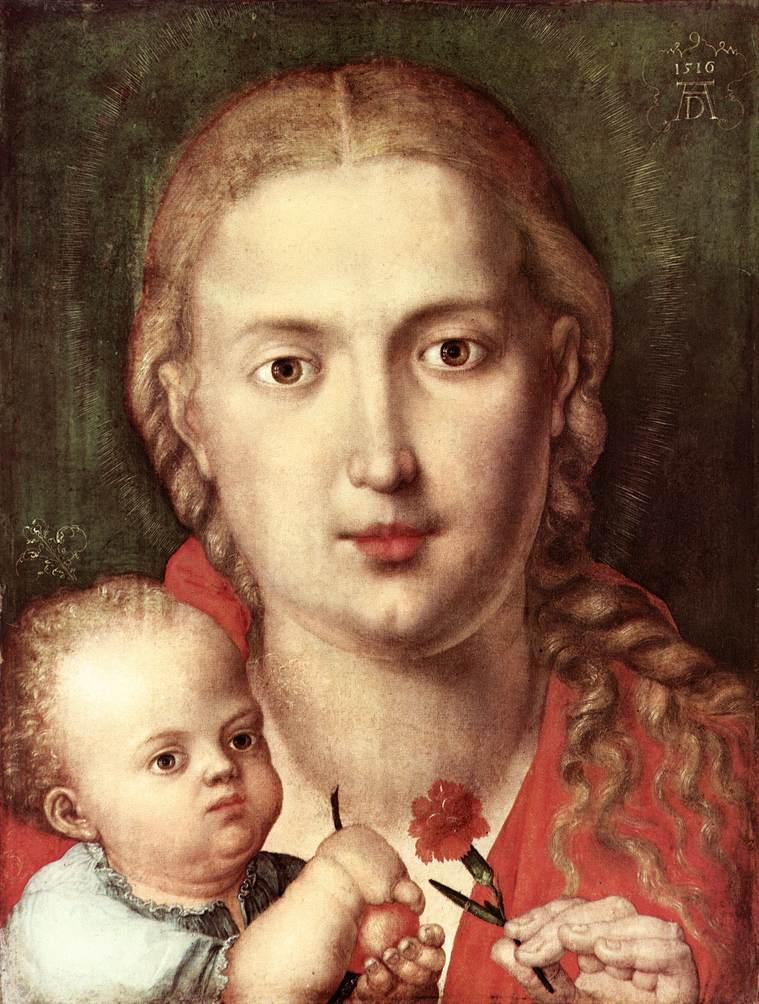 カーネーションの聖母