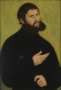青年貴族イェルクとしてのマルティン・ルターの肖像