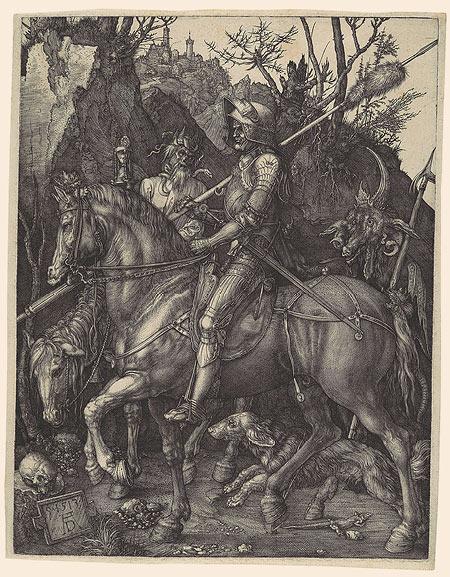 騎士と死と悪魔