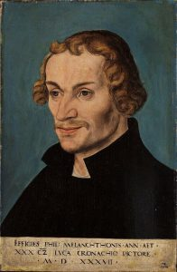 フィリップ・メランヒトンの肖像