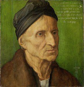 ミヒャエル・ヴォルゲムートの肖像